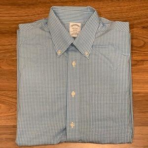 Brooks Brothers Regent Dress Shirt Mens Size L